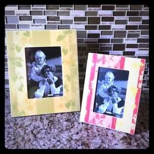 2 Sets of Picture Frames